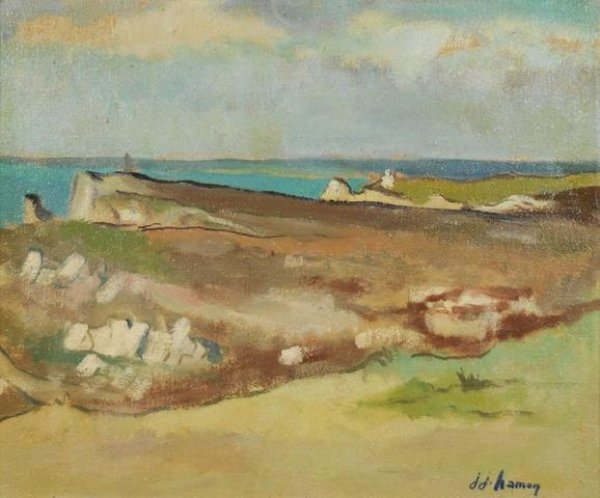 jj hamon plouha peintre breton