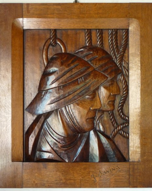 Joseph Savina sculpture