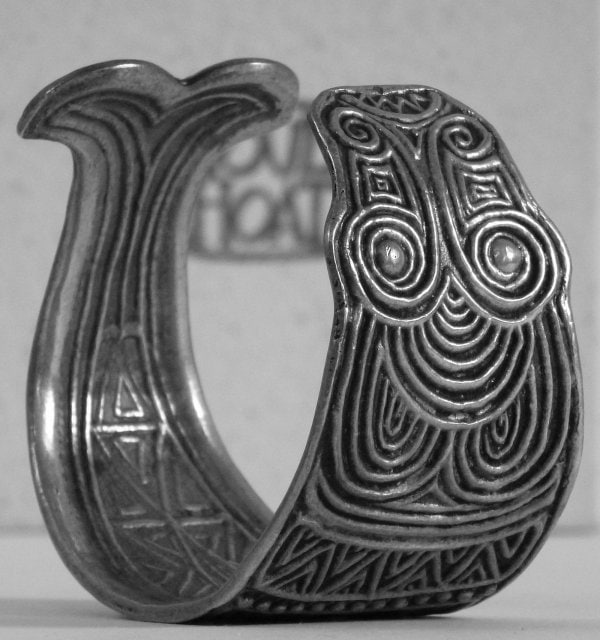 Pierre Toulhoat Bracelet Poisson Greyscale